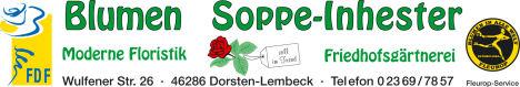 Blumen Soppe - Inhester