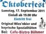 Kneipen-Oktoberfest 2011