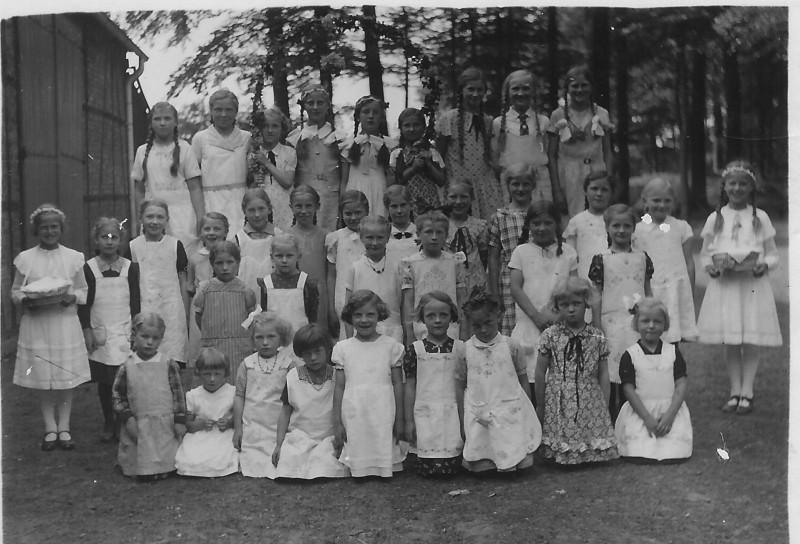 Pingstebrut 1935