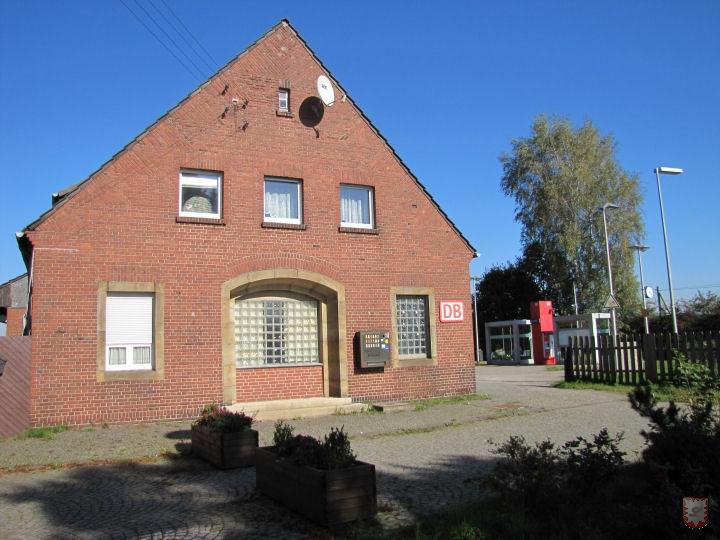 Bahnhof Lembeck, Bahnhofskneipe, Gaststätte
