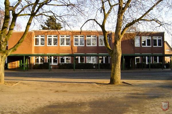 Mittlerer Teil der Laurentiusschule, der 1968 eingeweiht wurde.