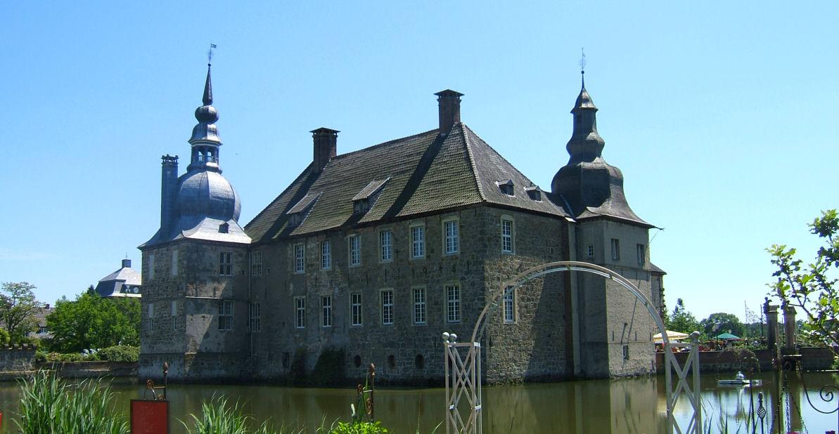 Schloss Lembeck am 13. Juni 2009. Foto: Lembecker.de - Frank Langenhorst