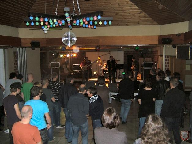 Archivfoto Lembecker.de von der 10. Rocknacht im Pfarrheim (13.11.2009)