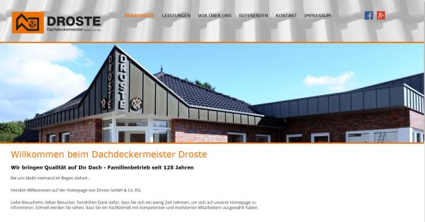 Dachdeckermeister Droste GmbH & Co. KG
