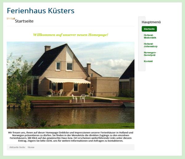 Ferienhausvermietung Ursula Küsters