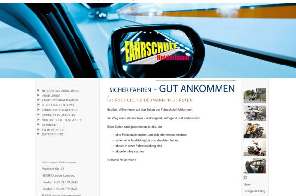 Heidermann, Martin – Fahrschule