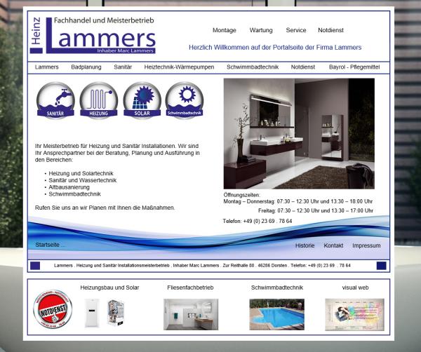 Sanitär, Heizungstechnik, Schwimmbadtechnik & Solar – Heinz Lammers (Inh. Marc Lammers)