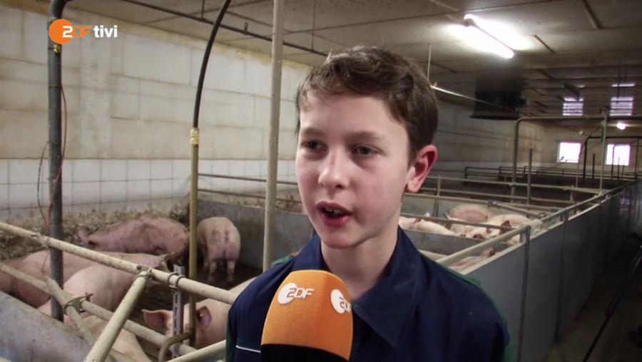 """Screenshot der ZDF tivi Sendung """"LOGO"""""""