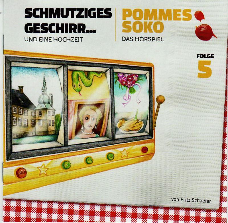 Das CD-Vover des aktuellen Hörspiels - Foto: Dorstener Zeitung