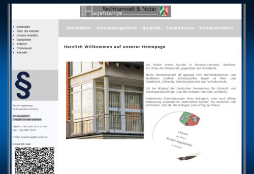 Hagelstange, Bernd – Rechtsanwalt & Notar