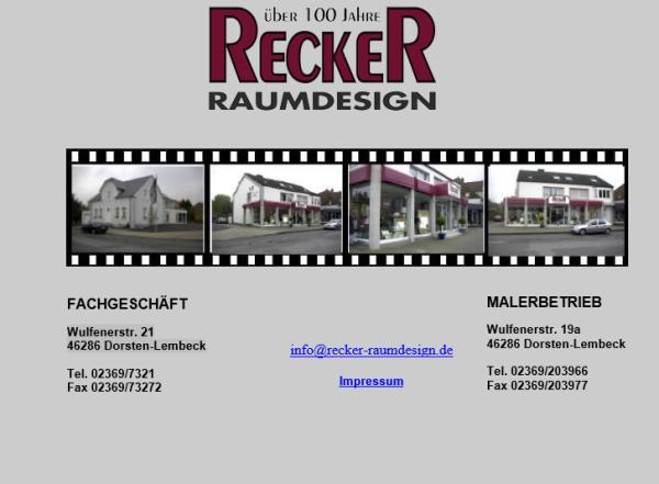 Recker Raumdesign