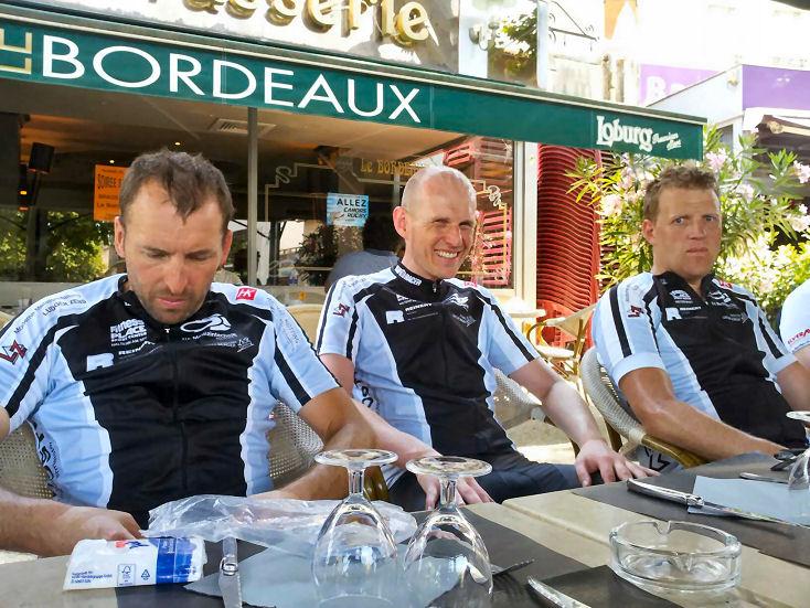 Im Bild von links nach rechts: Markus Mast, Markus Mecking und Udo Weßeling