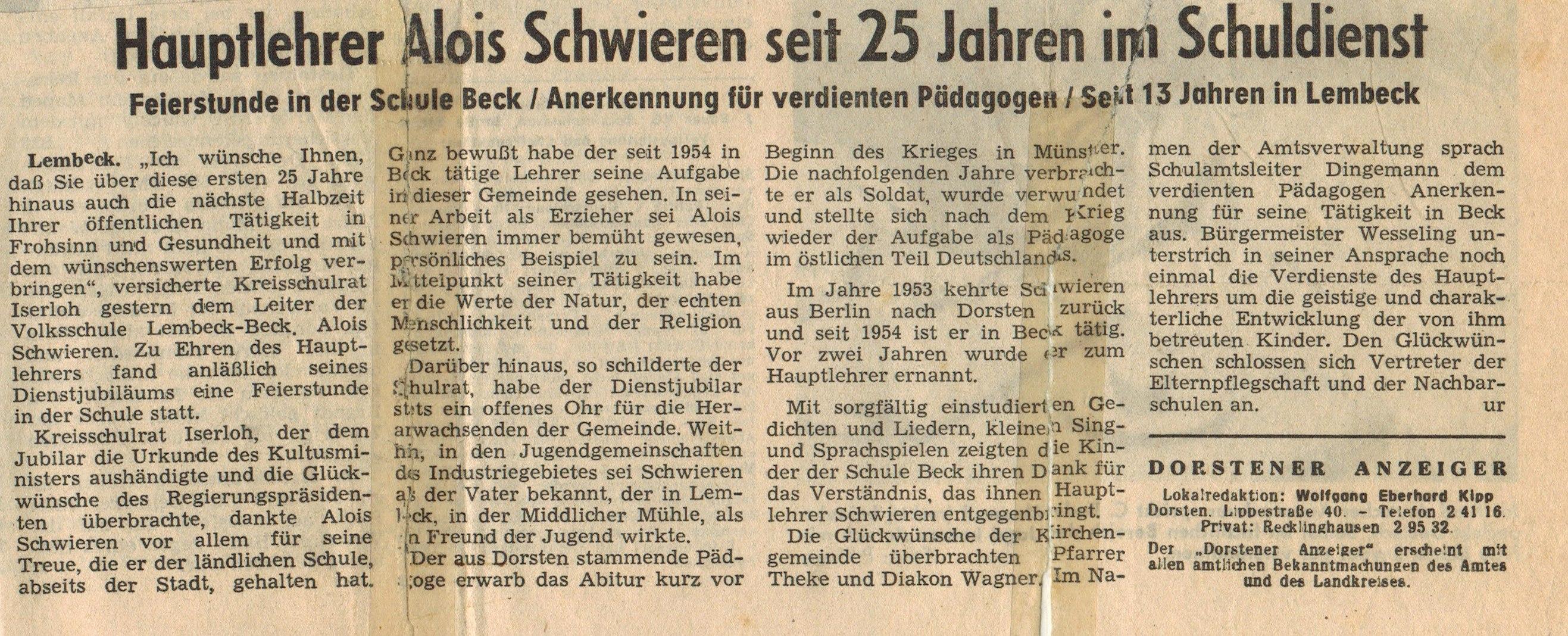 60er_Jahre_Schwieren_Zeitung