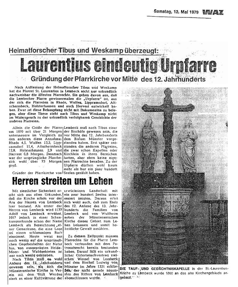Laurentius_eindeutig_Urpfatte_WAZ_12.05.1979