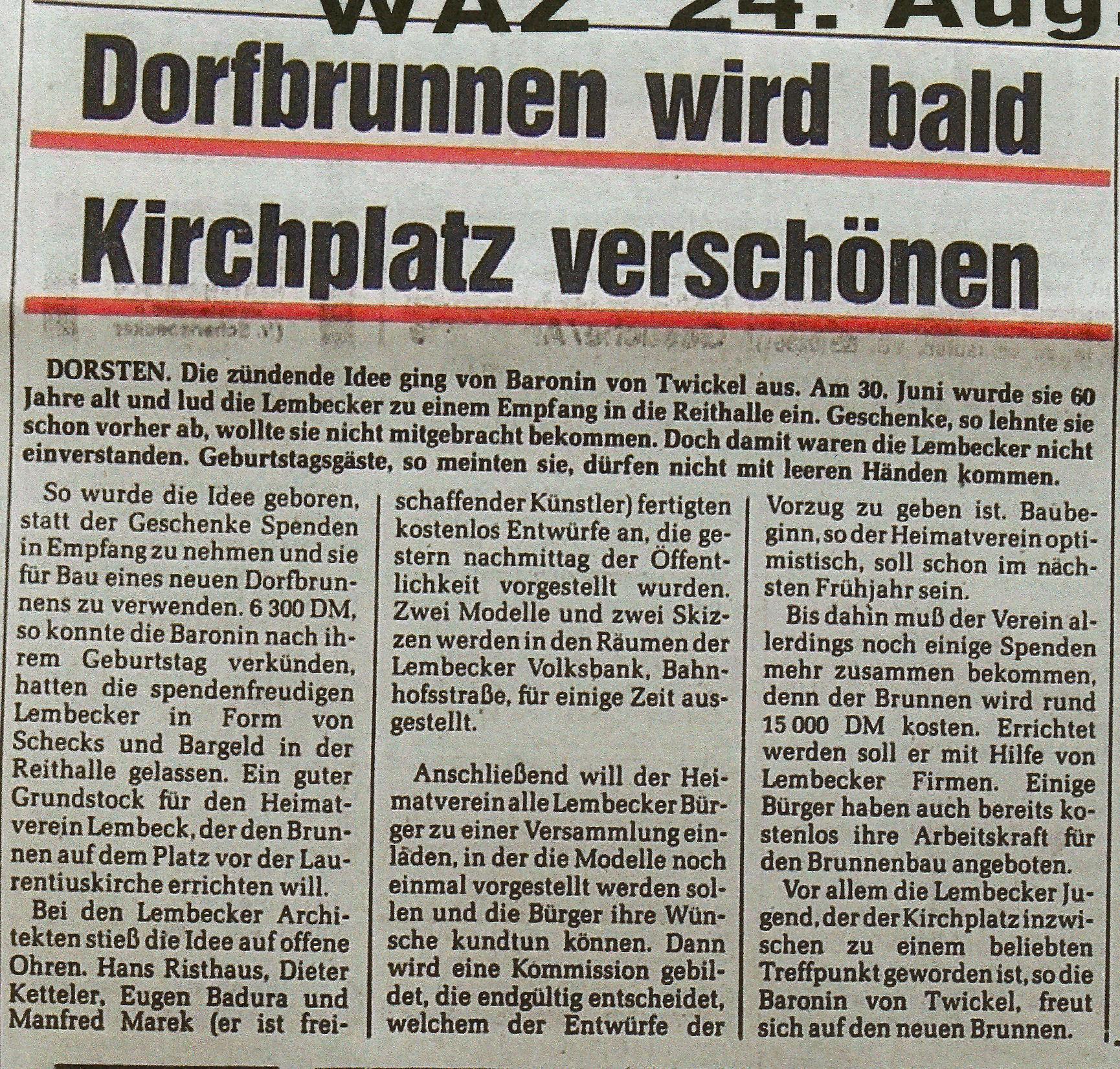 19820824_WAZ_Dorfbrunnen_wird_bald_Kirchplatz_verschoenern_02