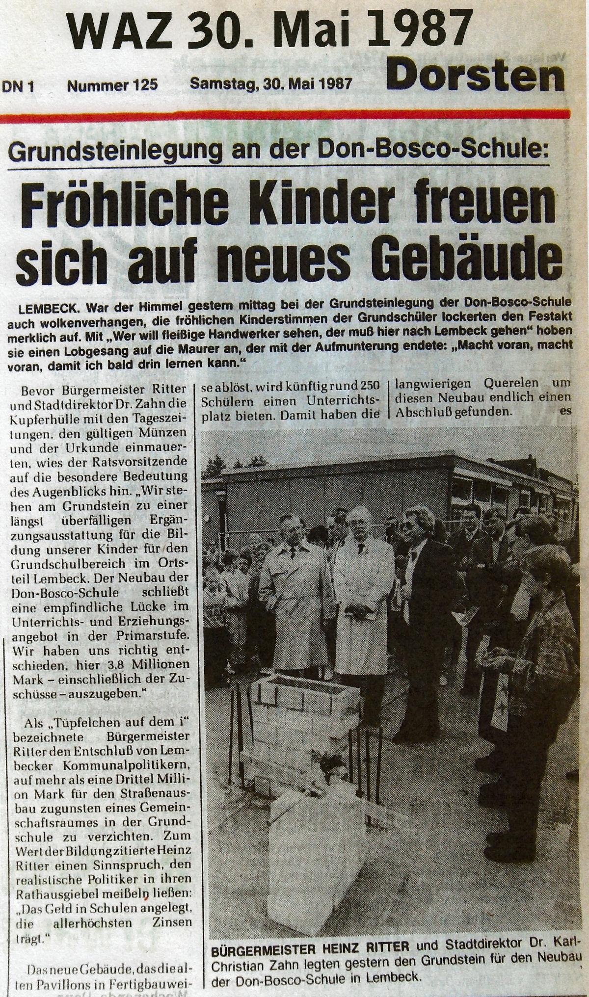 19870530_Grundsteinlegung_Donboscoschule