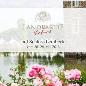 Landpartie @ Schloss Lembeck | Dorsten | Nordrhein-Westfalen | Deutschland