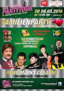 Familienparty bei REWE-Cosanne @ REWE-Cosanne | Dorsten | Nordrhein-Westfalen | Deutschland