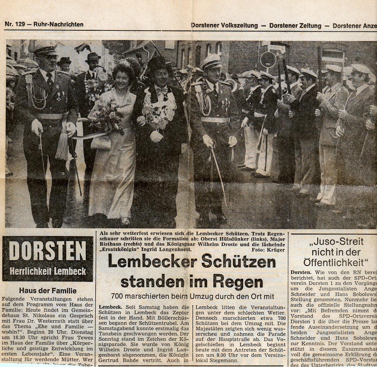 Dorstener Zeitung 06.06.1977