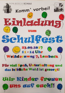 Don-Bosco-Schulfest @ Don-Bosco-Schule | Dorsten | Nordrhein-Westfalen | Deutschland