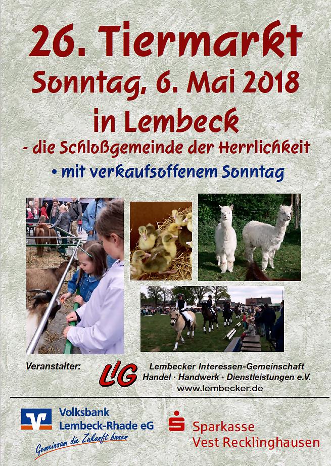 Tiermarkt Lembeck
