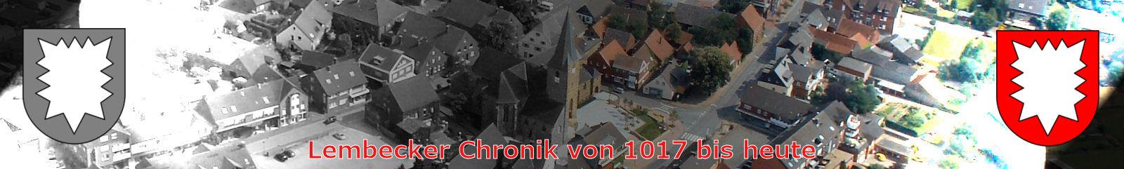 Chronik, Lembecker Geschichte, Geschichtstafel