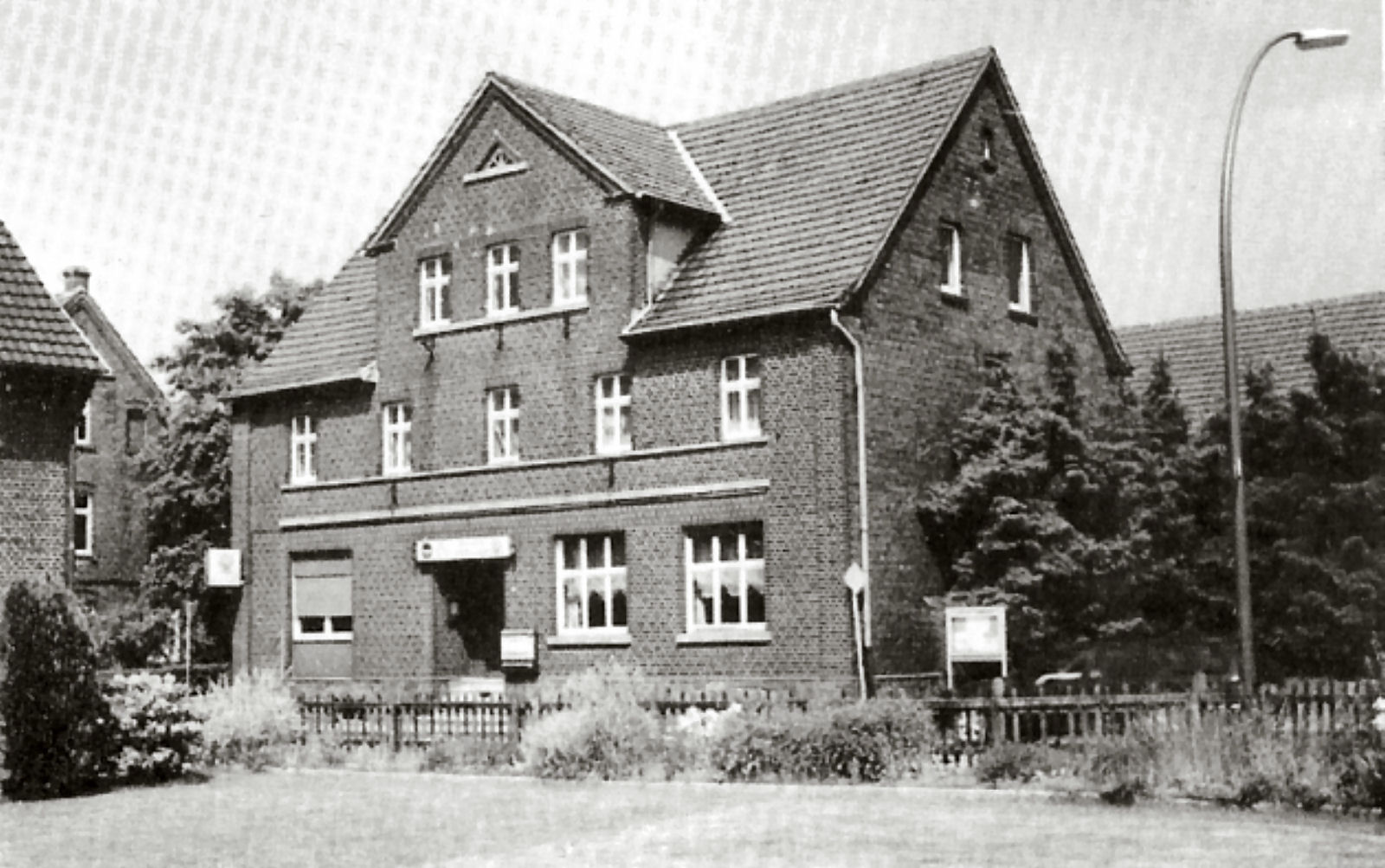 Gaststätte Stegemann, Saal, Kegelbahn, Lembeck
