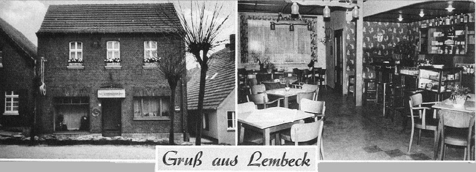 """Gaststätte """"Stenen Hues"""" in Lembeck, Bahnhofstraße 4"""