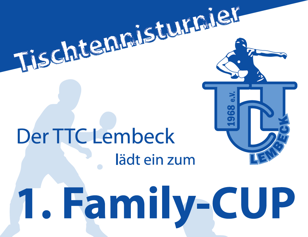 Family-CUP, TTC, Tischtennis