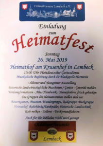 Heimatfest @ Heimathof | Dorsten | Nordrhein-Westfalen | Deutschland