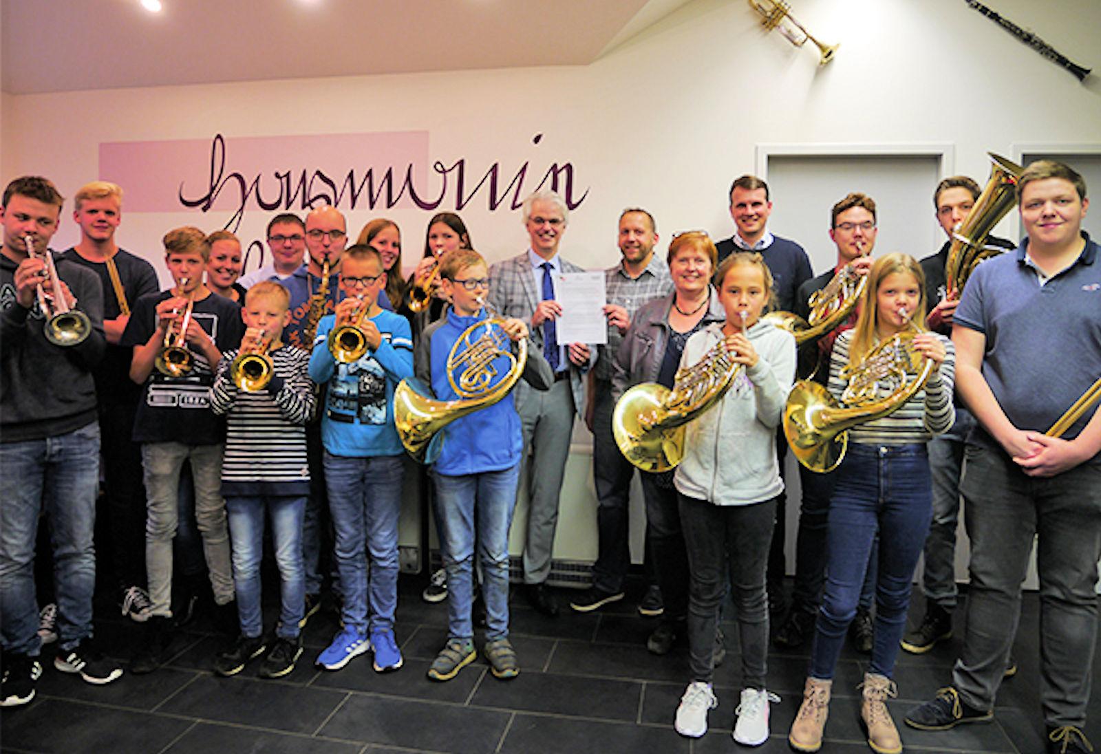 Blaskapelle, Musikschule