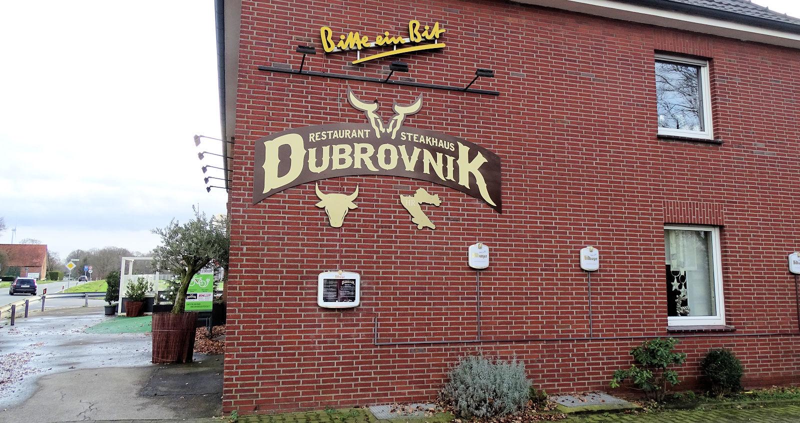 Steakhaus Dubrovnik, Restaurant, Kegelbahn, Heiden