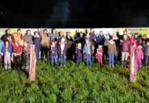 Landwirte, Mahnfeuer, Protest