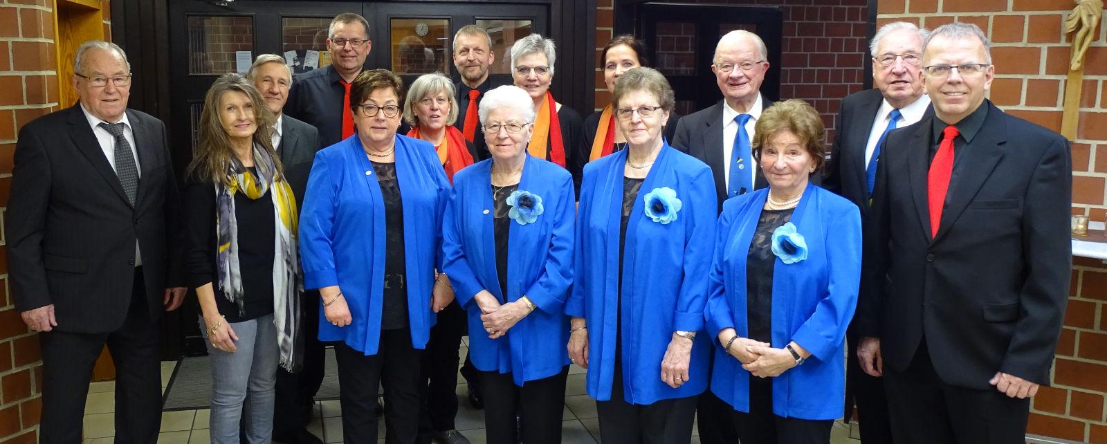 Jubiläum, Gemischter Chor Lembeck, 75 Jahre