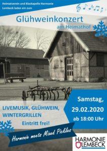 Glühweinkonzert @ Heimathof (Am Krusenhof)
