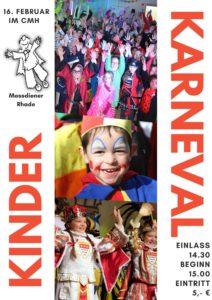 Kinder-Karneval @ CMH - Rhade