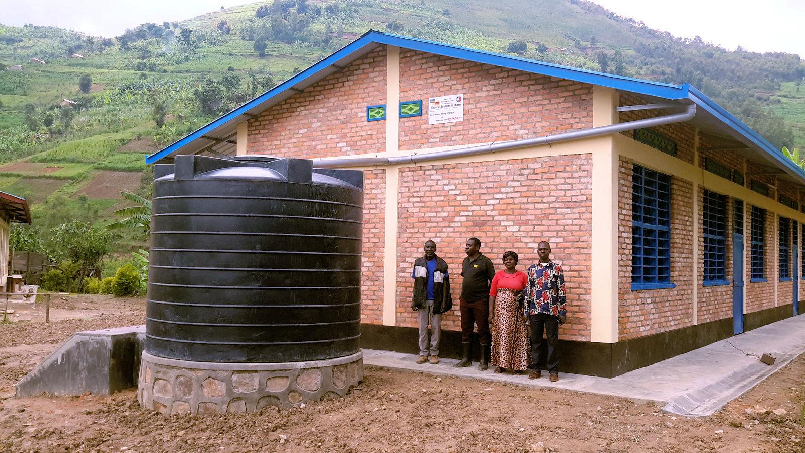 Ruanda, Schulprojekt, ElverMannschaft, Lembeck
