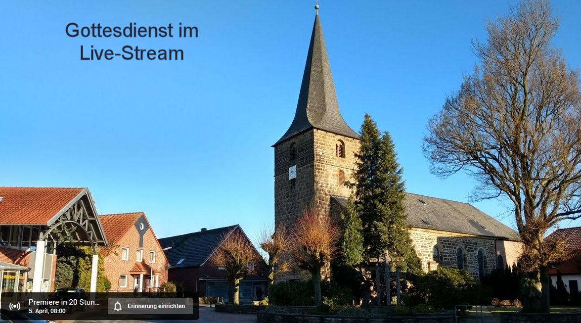 Livestream, Gottesdienst