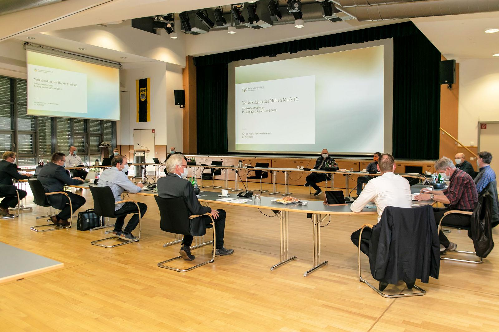 Volksbank, Reken-Forum, Aufsichtsrat, Sitzung