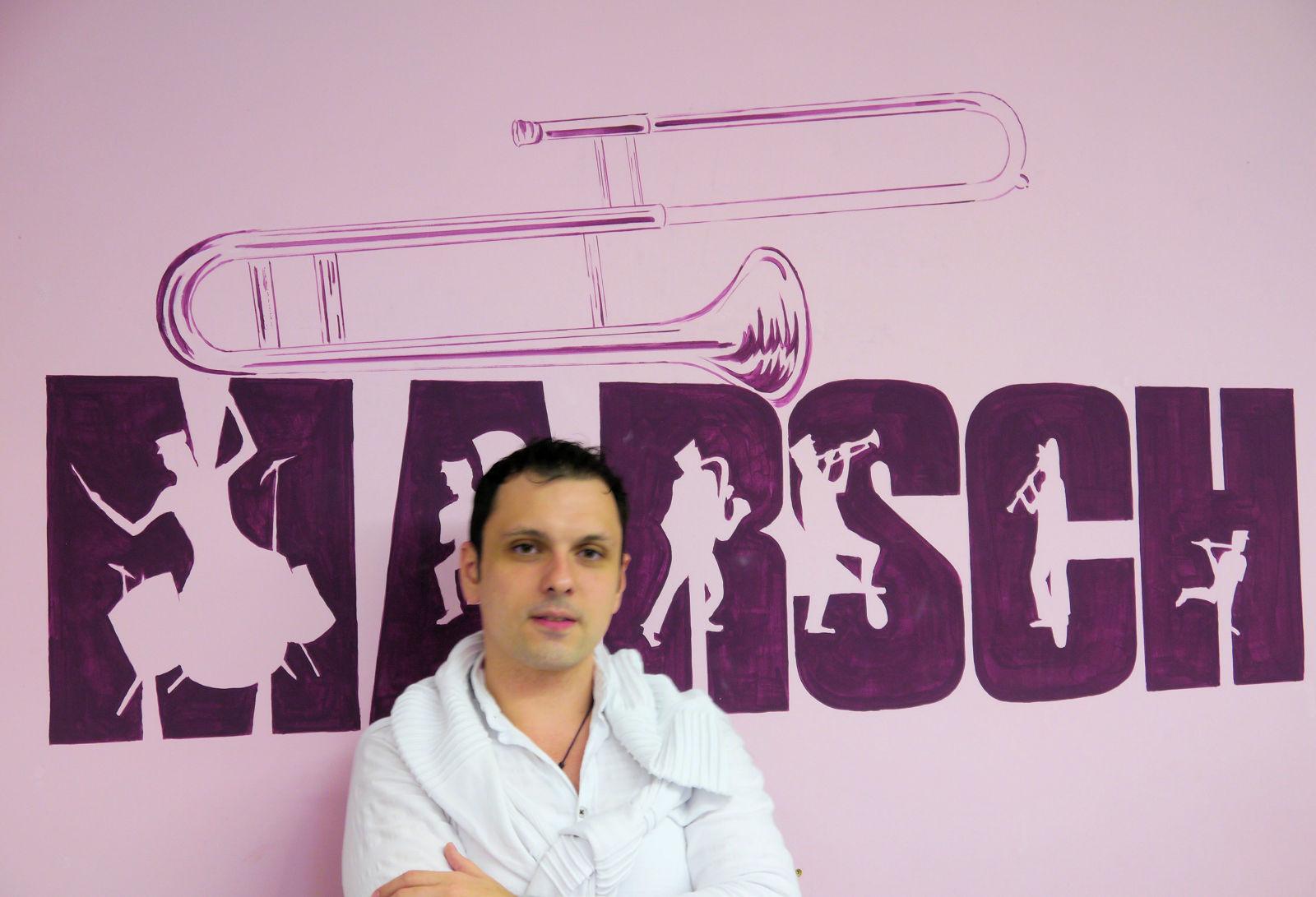 Mircea Mihai Spanu, Blaskapelle Harmonie, Lembeck