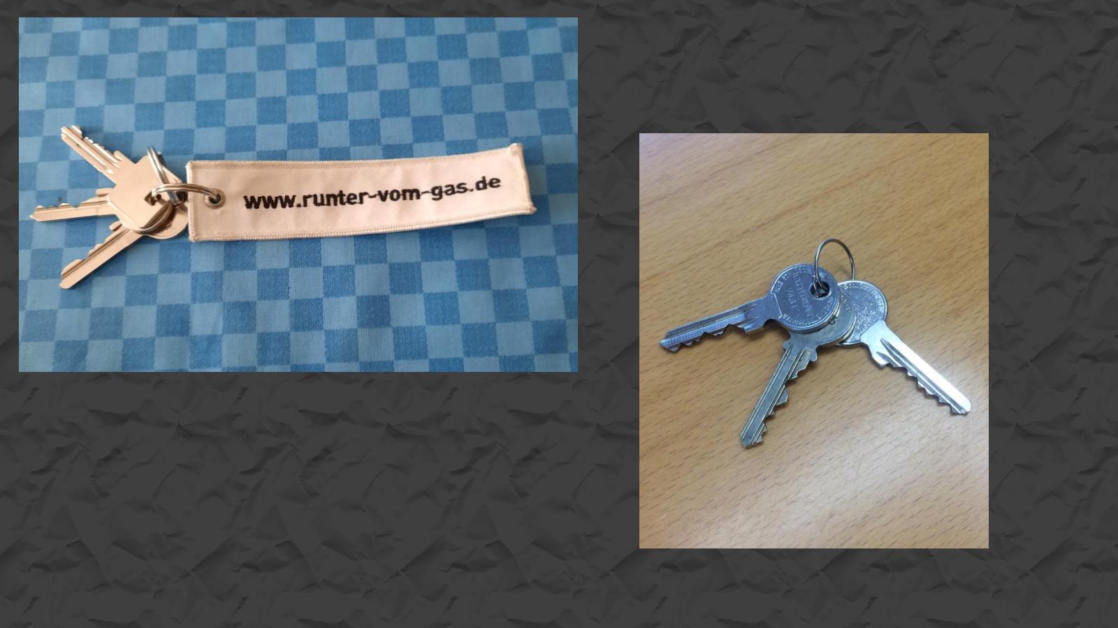 Schlüssenbund, Schlüssel, gefunden