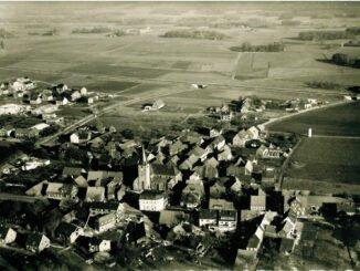 Luftbild Lembeck, 1967