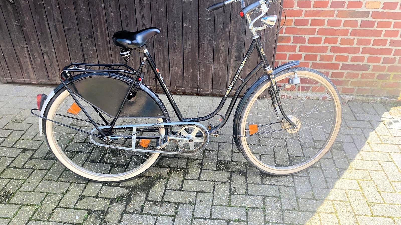 Fahrrad, Damenfahrrad