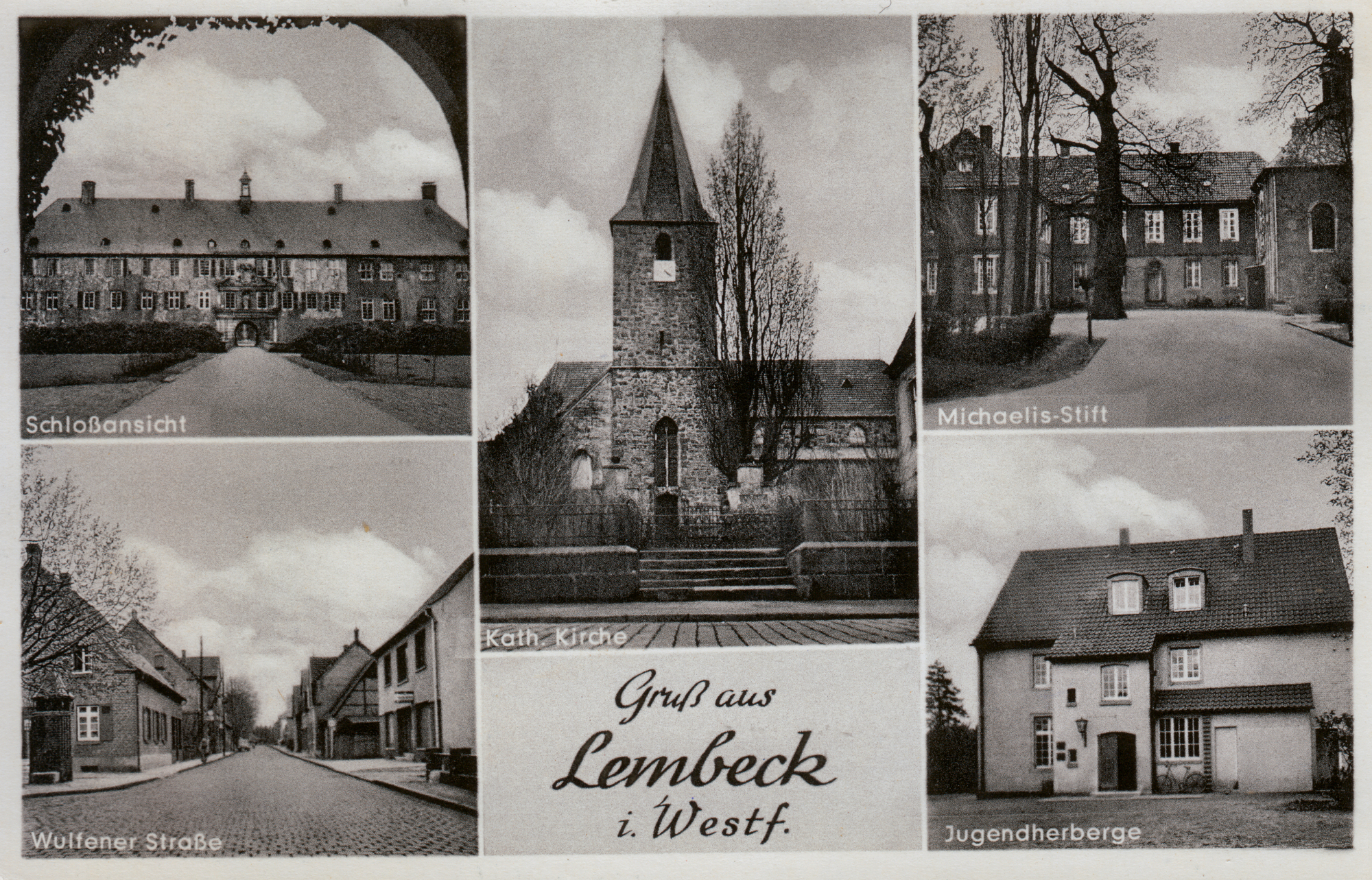 Postkarte, Ansichtskarte, Lembeck