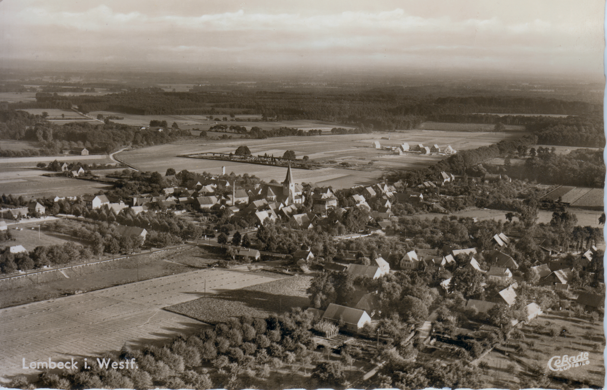Luftbild, Lembeck