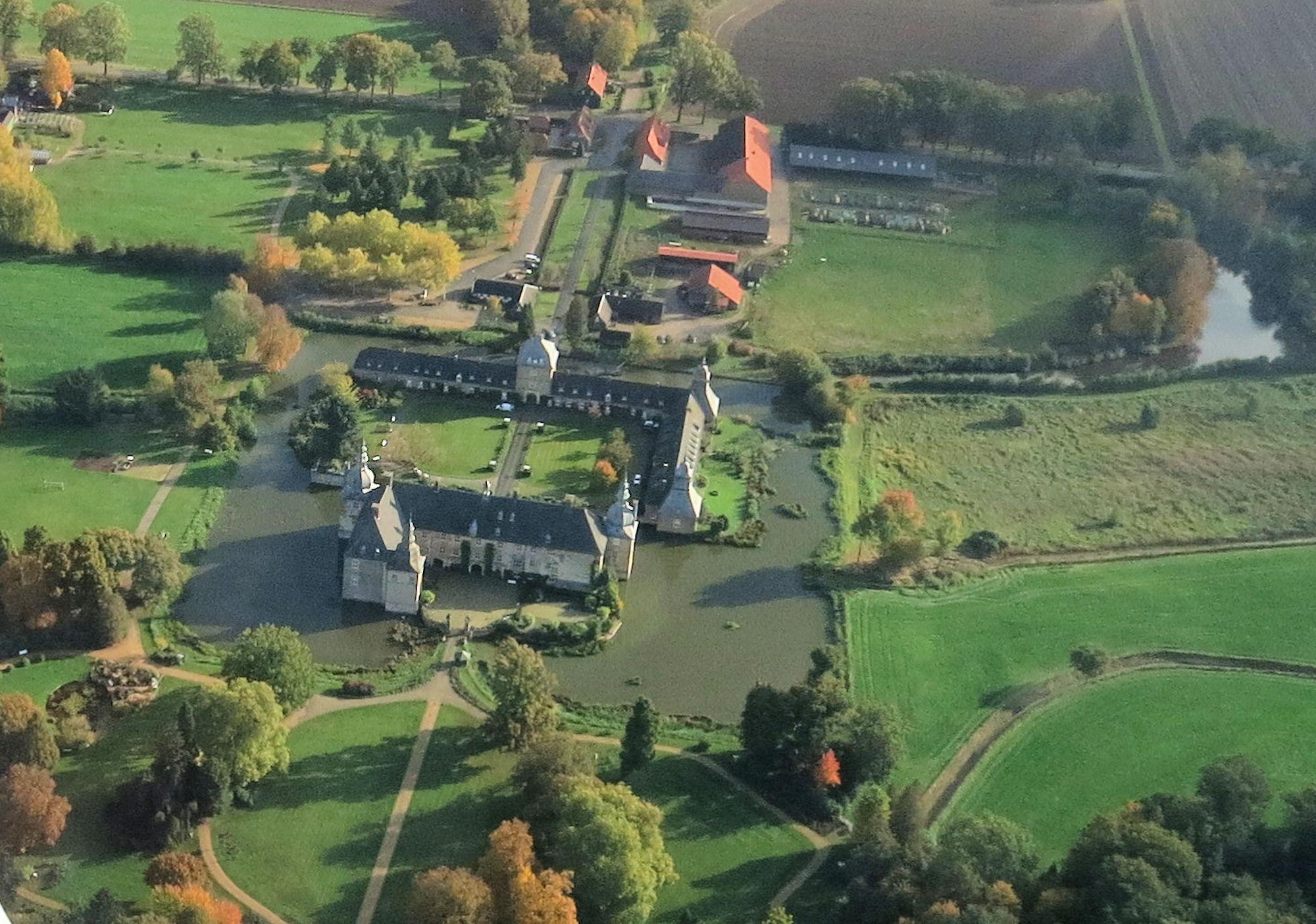 Lembeck, Luftbild, 02.10.2020, Friedrich Cosanne, Schloss Lembeck